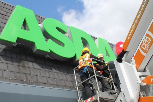 Asda Store Roof Repair 1