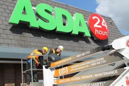 Asda Store Roof Repair 10